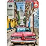 Puzzle  Educa-16754 Vintage Car in Old Havana