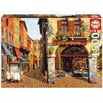 Puzzle  Educa-16770 Salumeria, Viktor Shvaiko - Colors of Italy