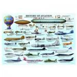 Puzzle  Eurographics-6000-0086 Histoire de l'Aviation