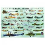 Puzzle  Eurographics-6000-0087 Les avions de la 1ère guerre mondiale