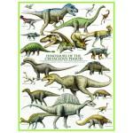 Puzzle  Eurographics-6000-0098 Les Dinosaures - Période du Crétacé