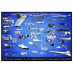 Puzzle  Eurographics-6000-0248 Aviation Américaine X-Planes