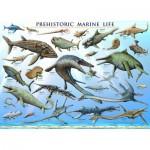 Puzzle  Eurographics-6000-0307 Vie marine préhistorique