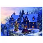 Puzzle  Eurographics-6000-0428 Davison - A la maison pour Noël
