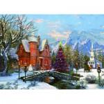 Puzzle  Eurographics-6000-0669 Dominic Davison : Holiday Lights