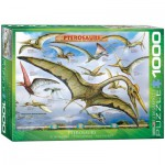 Puzzle  Eurographics-6000-0680 Dinosaures - Ptérosaures