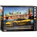 Puzzle  Eurographics-6000-0735 2015 Chevrolet Corvette Z06