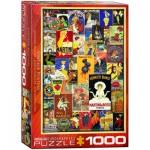 Puzzle  Eurographics-6000-0769 Vintage Posters