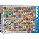 Puzzle  Eurographics-6000-0783 Volkswagen Minibus