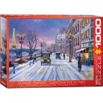 Puzzle  Eurographics-6000-0785 Dominic Davison: Noël à Paris