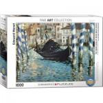 Puzzle  Eurographics-6000-0828 Edouard Manet - Le Grand Canal, Venise