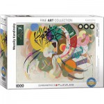 Puzzle  Eurographics-6000-0839 Wassily Kandinsky - Courbe Dominante