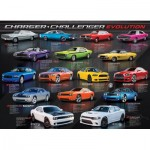 Puzzle  Eurographics-6000-0949 Dodge Charger Challenger Evolution