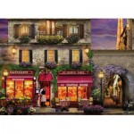 Puzzle  Eurographics-6000-0963 David Mc Lean - Restaurant au Chapeau Rouge