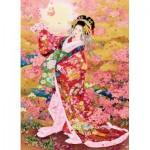 Puzzle  Eurographics-6000-0984 Syungetsu by Haruyo Morita
