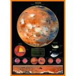 Puzzle  Eurographics-6000-1006 La Planète Mars