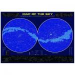 Puzzle  Eurographics-6000-1010 Carte du Ciel