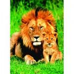 Puzzle  Eurographics-6000-1148 Le lion et son petit