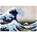 Puzzle  Eurographics-6000-1545 Katsushika Hokusai : Super Vague à Kanagawa