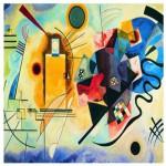 Puzzle  Eurographics-6000-3271 Kandinsky Wassily : Jaune, Rouge, Bleu