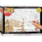 Puzzle  Eurographics-6033-0921 Color Me XXL - Gustav Klimt : L'Arbre de la Vie