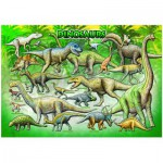 Puzzle  Eurographics-6100-0098 Dinosaures