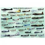 Puzzle  Eurographics-8000-0075 Avions de la 2ème guerre mondiale