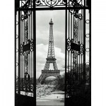 Puzzle  Eurographics-8000-0175 Vue sur la Tour Eiffel