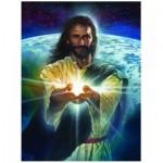 Puzzle  Eurographics-8000-0357 Nathan Greene : La lumière du monde