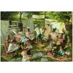Puzzle  Eurographics-8000-0444 Bob Byerley - Mémoires d'enfants - L'hôpital