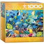 Puzzle  Eurographics-8000-0625 Howard Robinson: Les Couleurs de l'Océan