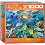 Puzzle  Eurographics-8000-0626 Howard Robinson: Le Voyage de la Tortue de Mer