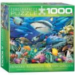 Puzzle  Eurographics-8000-0628 Howard Robinson: Jardin de l'Océan