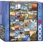 Puzzle  Eurographics-8000-0779 Collage de Phares