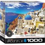 Puzzle  Eurographics-8000-0944 Oia, Santorini