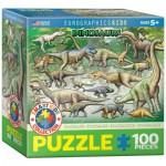 Puzzle  Eurographics-8100-0098 Dinosaures