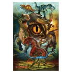 Puzzle  Eurographics-8100-0359 Dinosaures Carnivores