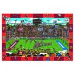 Puzzle  Eurographics-8100-0474 Cherche et Trouve - Football Américain