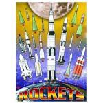 Puzzle  Eurographics-8100-1015 Fusées de la NASA