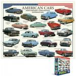 Puzzle  Eurographics-8104-3870 Voitures américaines des années cinquante