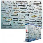 Puzzle  Eurographics-8220-0578 Evolution des avions de guerre