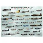 Puzzle  Eurographics-8300-0075 Avions de la 2ème guerre mondiale