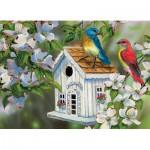 Puzzle  Eurographics-8300-0601 Grende - 23 Cottage Lane pour oiseaux