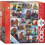 Puzzle  Eurographics-8300-0777 Pièces XXL - Royal Canadian Mounted Police
