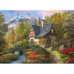 Eurographics-8300-0966 Pièces XXL - Family Puzzle: Dominic Davison - Nordic Morning