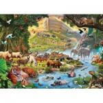 Eurographics-8300-0980 Pièces XXL - Familiy Puzzle: Steve Crisp - Noah's Ark Before the Rain