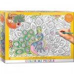 Puzzle   Color Me XXL - Plumes Majestueuses