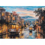 Puzzle   Eugene Lushpin - San Francisco, Cable Car Heaven