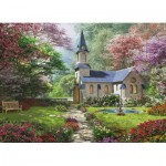 Pièces XXL - Familiy Puzzle: Dominic Davison - Blooming Garden
