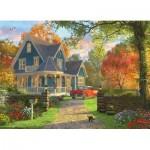 Pièces XXL - Familiy Puzzle: Dominic Davison - The Blue Country House